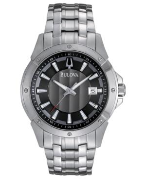 Bulova Men's Stainless Steel Bracelet Watch 43mm 96B169