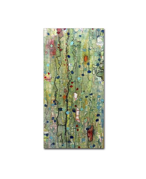 "Trademark Global Sylvie Demers 'In Vitro' Canvas Art - 47"" x 24"" x 2"""