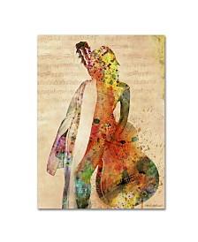 """Mark Ashkenazi 'Gracias a la Vida Que Me Ha Dado Tanto' Canvas Art - 32"""" x 24"""" x 2"""""""