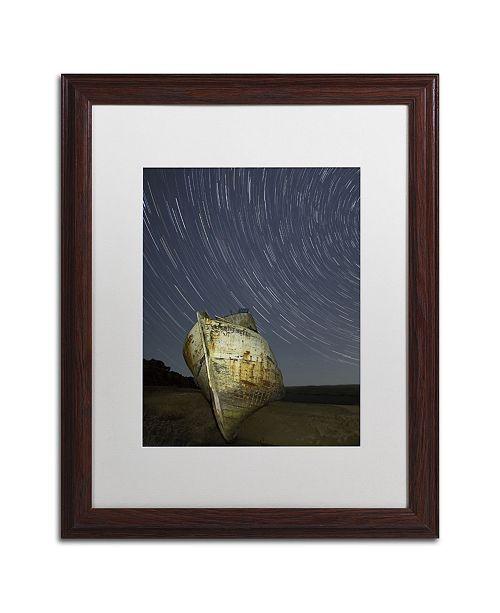 "Trademark Global Moises Levy 'Point Reyes II' Matted Framed Art - 20"" x 16"" x 0.5"""