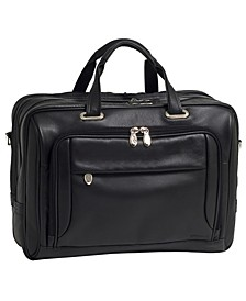 West Loop Expandable Double Compartment Briefcase
