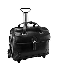 Siamod Carugetto Patented Detachable -Wheeled Laptop Briefcase