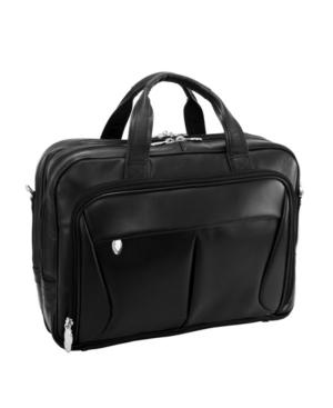 Mcklein Pearson Expandable Double Compartment Laptop Briefcase
