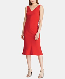Lauren Ralph Lauren Sleeveless Jersey Dress