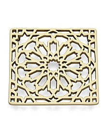 Global Tapestry Metal Trivet Moroccan