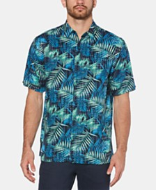 Cubavera Men's Regular-Fit Tropical-Print Shirt