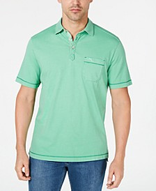 Men's Bahama Beach Pigment-Dyed Pima Cotton Polo