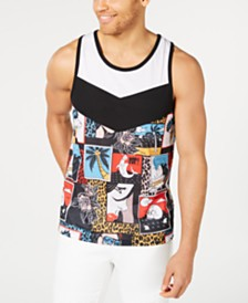 I.N.C. Men's Sublime Graphic Tank Top, Created for Macy's
