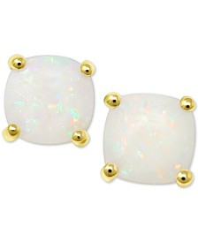 Opal (1 ct. t.w.) Stud Earrings in 14k Gold