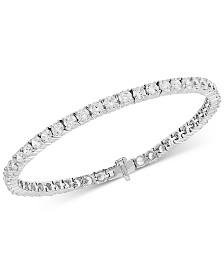 Arabella Cubic Zirconia Tennis Bracelet in Sterling Silver