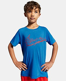 Nike Big Boys Breathe Dri-FIT Logo Training T-Shirt
