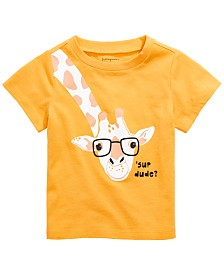 First Impressions Toddler Boys 'Sup Giraffe Graphic Cotton T-Shirt, Created for Macy's