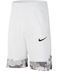 Nike Big Boys Printed-Hem Basketball Shorts