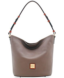 Small Thea Feed Leather Bag