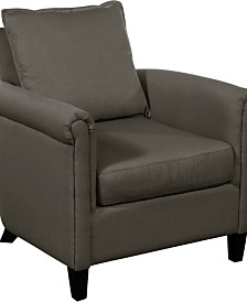 Serta Jackson Rolled Arm Accent Chair, Quick Ship
