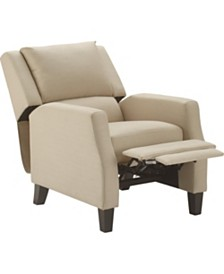 Truly Home Bristol Push Back Recliner Chair, Quick Ship