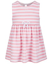 0dd0788b2 First Impressions Baby Girls Striped French Terry Dress, Created for Macy's