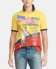 Polo Ralph Lauren Men's Custom Slim Fit Chariots Polo