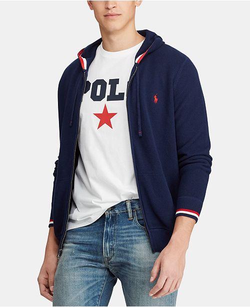 Polo Ralph Lauren Men's Full-Zip Cotton Sweater