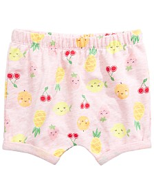 First Impressions Baby Girls Fruit Short, Created for Macy's