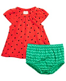 First Impression's Baby Girl's Watermelon Dress Set, Created for Macy's