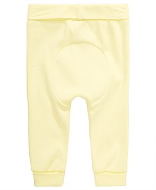 First Impressions Baby Boys or Girls Circle Cotton Yoga Pants, Created for Macy's