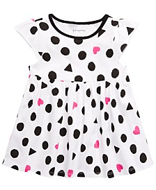 First Impressions Baby Girls Geometric Shape-Print Tunic, Created for Macy's