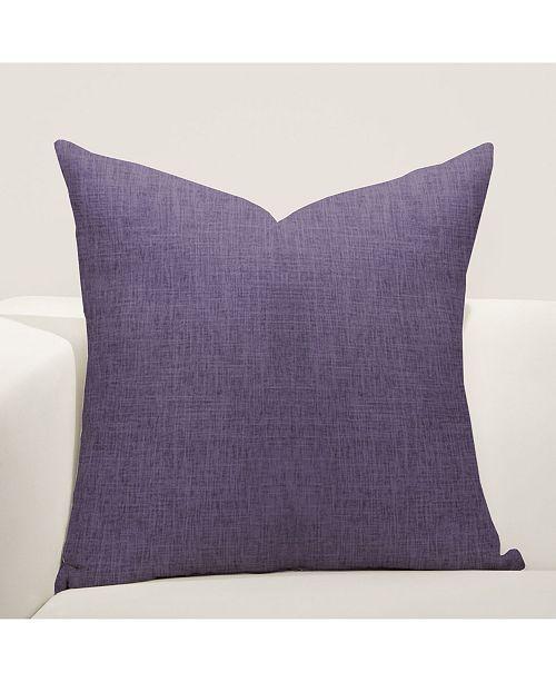"Siscovers Meadow Iris 20"" Designer Throw Pillow"