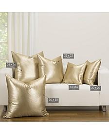 Rendezvous Golden Accent Throw Pillow