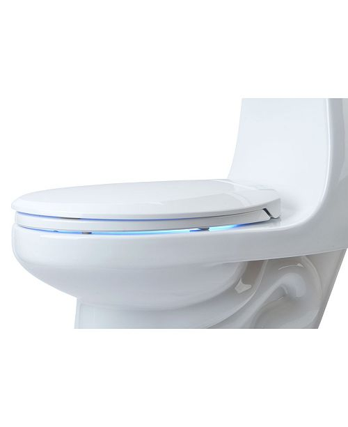 Astonishing Lumawarm Heated Nightlight Toilet Seat Elongated Gmtry Best Dining Table And Chair Ideas Images Gmtryco