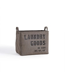 Danya B. Army Canvas Laundry Basket