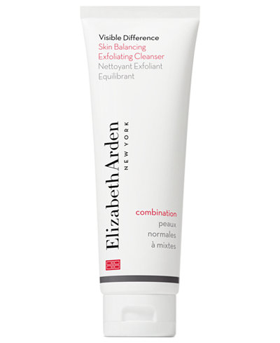 Elizabeth Arden Visible Difference Skin Balancing Exfoliating Cleanser, 4.2 oz