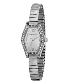 Ladies' Silver Expandable Bracelet Watch