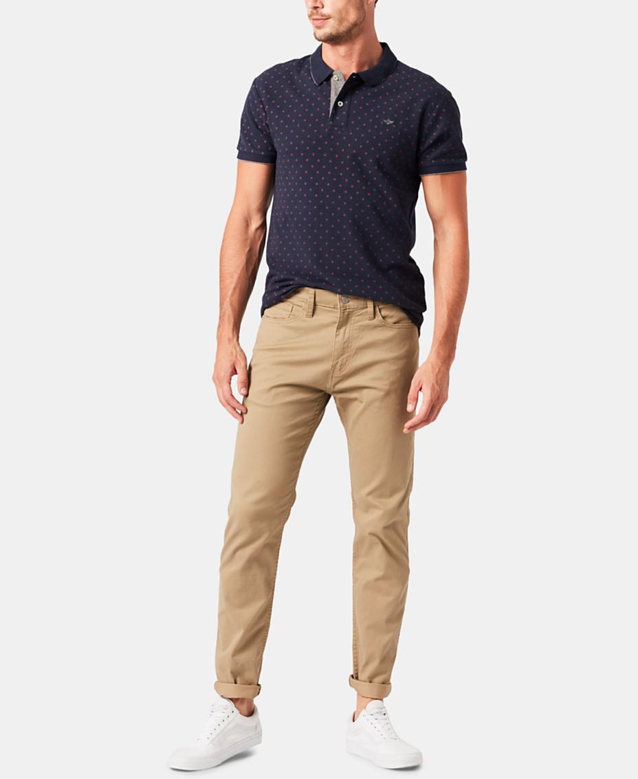 b3a7fa197dd7a Dockers® Men's Slim Fit Jean Cut Khaki All Seasons Tech Pants