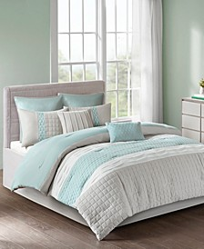 510 Design Tinsley Queen 8 Piece Comforter Set