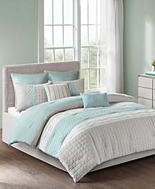 510 Design Tinsley Queen 8 Piece Comforter Set
