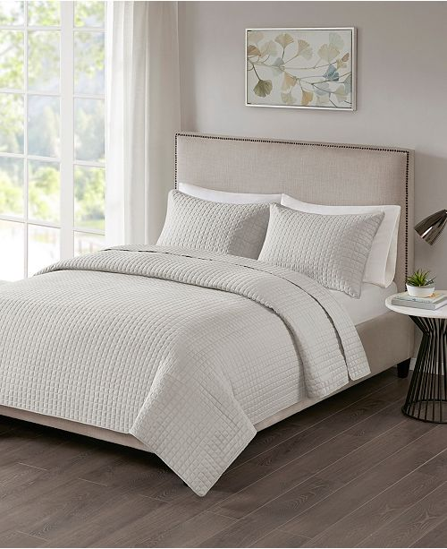 JLA Home 510 Design Otto Full/Queen 3 Piece Coverlet Set