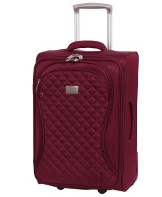 """Timeless 22"""" Lightweight Expandable Carry On Spinner Suitcase"""