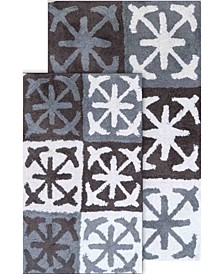 2-Piece Columbia Bath Rug Set