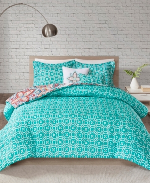 510 Design Amari Full/Queen 5 Piece Reversible Print Comforter Set Bedding