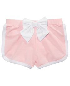 Epic Threads Little Girls Bow Shorts, Created for Macy's