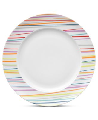 Thomas by Sunny Day Stripes Dinner Plate