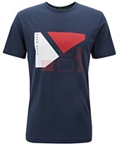 885d82290 BOSS Men's Tee 2 Regular-Fit Cotton T-Shirt