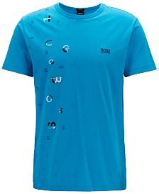 BOSS Men's Tee 9 Cotton Jersey T-Shirt