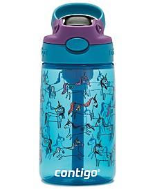 Contigo Autospout Kids Cleanable Tritan 14-Oz. Water Bottle, Unicorns