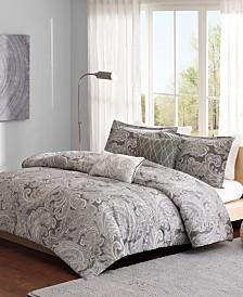 Madison Park Pure Ronan King/California King 5 Piece Cotton Comforter Set