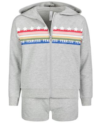 Big Girls French Terry Hoodie, Created for Macy's