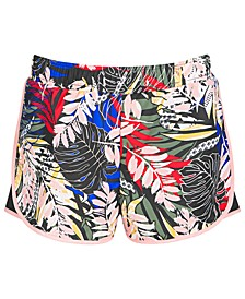Big Girls Printed Active Shorts, Created for Macy's