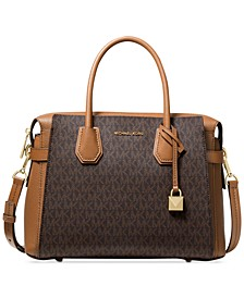Mercer Belted Signature Satchel