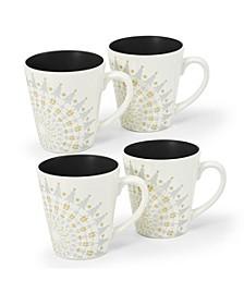 Colorwave Holiday Mugs - Set of 4